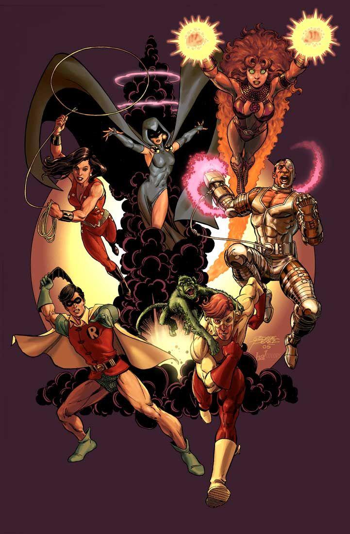 Teen Titans // George Perez & Gene Ha