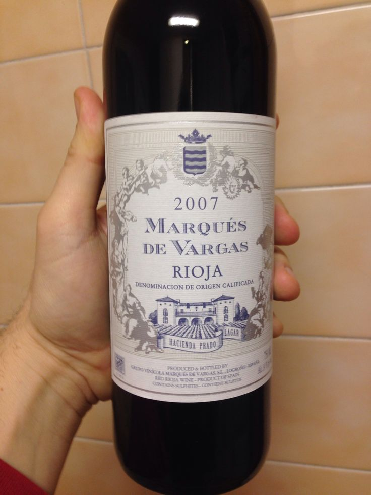 Marques de Vargas 2007 Reserva (Rioja)