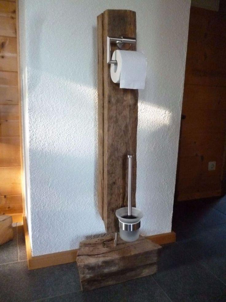 Alte Eichenbalken Historische Eichenstele Holzbalken Mit Toilettenzubehor Ein Holz Alte Eichenbalken Eichens Eiche Eichebalken Badezimmer Zubehor