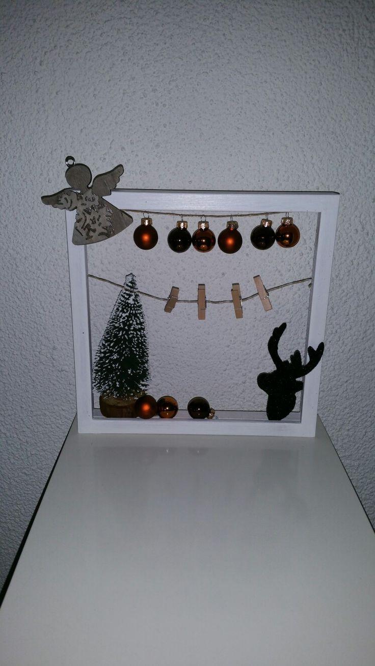 Diy/fotolijstje/creatief/kerst