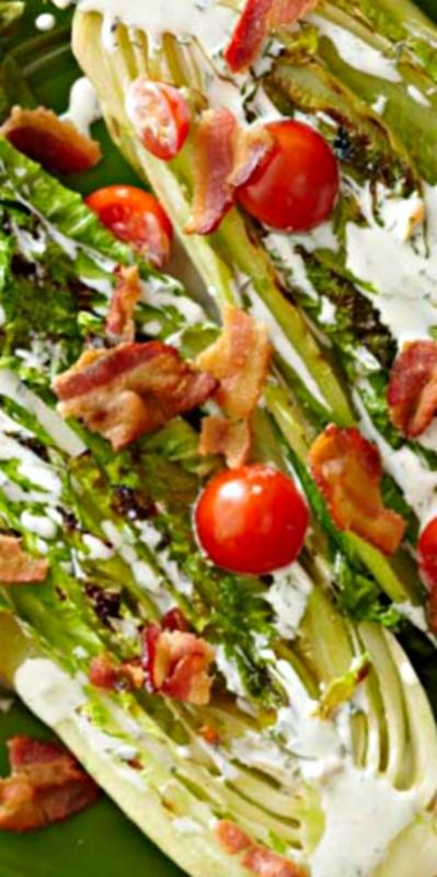 BLT Salad with Buttermilk Dressing | Recipe