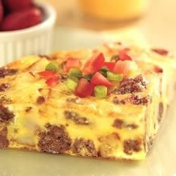 Sausage Frittata Allrecipes.com- It's whats for dinner!