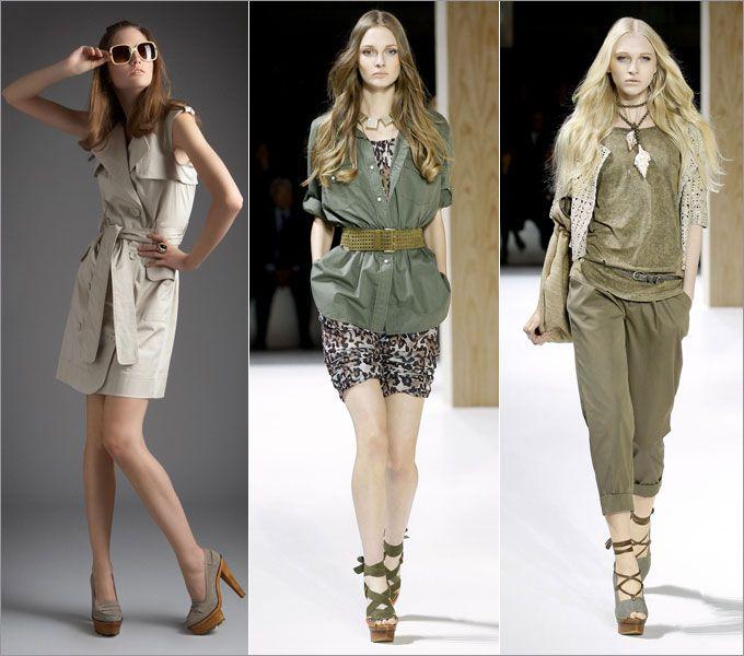 Стиль сафари: классика и актуальные интерпретации  Осень-зима 2015-2016 на Fashion-fashion.ru
