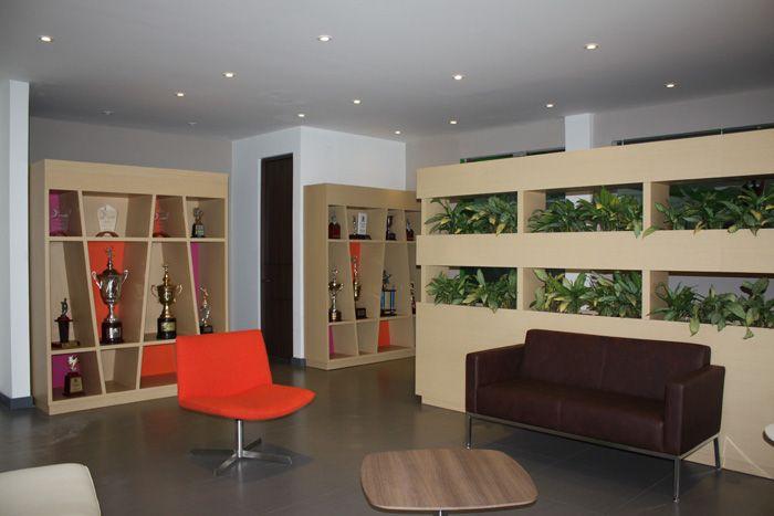 Diseño de #espacio Sede Administrativa colegio Santa María. #biblioteca #sala #deco #design  Foto con licencia Creative Commons