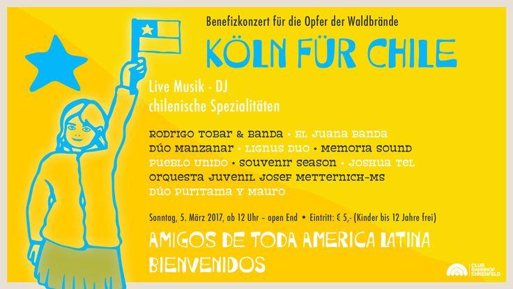 Köln hilft Chile -