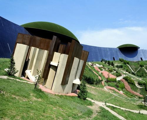 養老天命反転地|養老公園 site of reversible destiny-Yoro park, Gifu