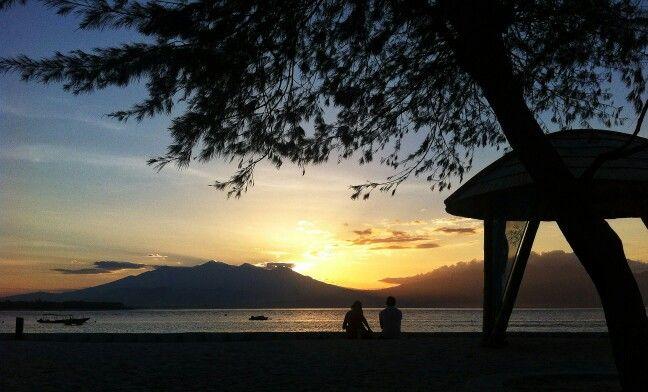 Sunrise, Gili Trawangan Lombok Indonesia