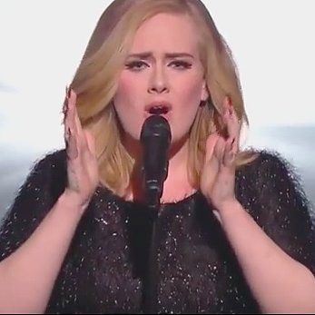 """Adele's Latest Live Performance of """"Hello"""" Will Kill You Dead: We can't get enough of Adele and """"Hello,"""" and even just a clip of her performing the song live for the first time sent us into a fangirl frenzy."""