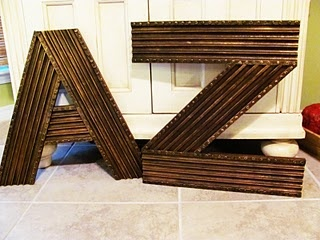 A-ZArtworks Ideas, Wall Decor, Crafts Ideas, Lucy Design, Abc Wall, Moldings Letters, Cool Ideas, Cardboard Letters, Pictures Frames
