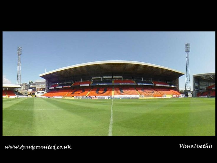 The George Fox stand at Tannadice. I used to have a season ticket here. It's been too long.....