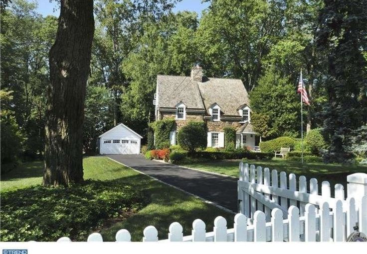 """""""It was designed and built by the famous architect, R. Brognard Okie, to replicate an 1850 Pennsylvania farmhouse. Okie is known as a master of the Colonial Revival style - building high end homes on the Main Line and restoring significant residences such as the Betsy Ross House.""""   1928 home in Fort Washington, PA."""