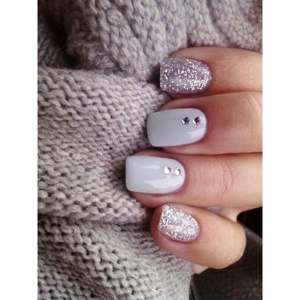 Top 50 Nail Art Ideas For 2016 ❤ liked on Polyvore featuring beauty products, nail care and nail treatments