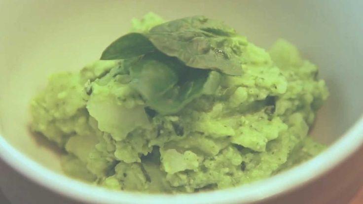 페스토 매쉬드 포테이토 만들기 (pesto mashed potatoes recipe)