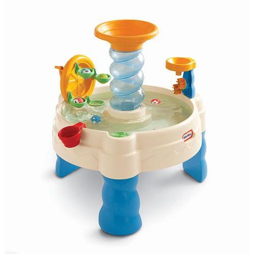 Water table! We have this!!  Aiden LOVES it!!