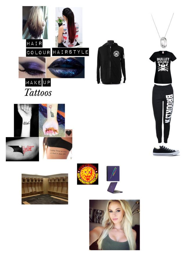 """""""Brianna~ Studying Backstage Before NJPW Wrestle Kingdom (Jan 2014)"""" by wwetnagirl ❤ liked on Polyvore featuring Links of London, Converse, Fisher Space Pen and Speck"""