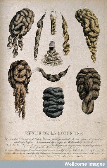 Haarstukken en pruiken 1875