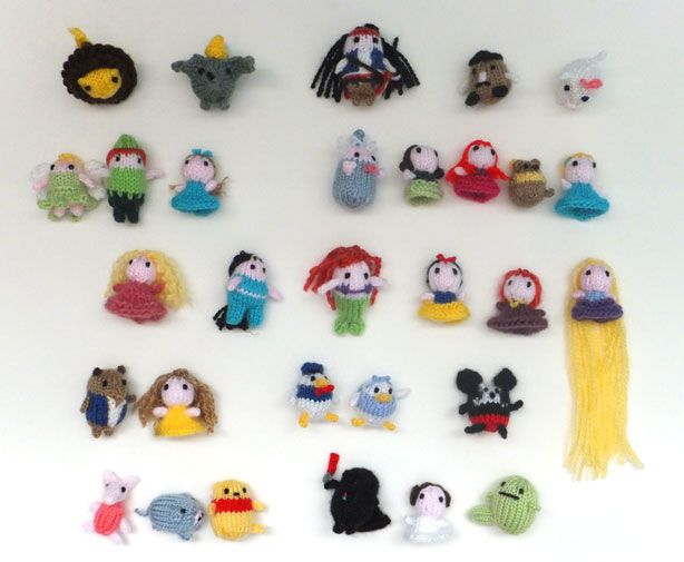 Knitting Patterns For Disney Toys : 104 Best images about