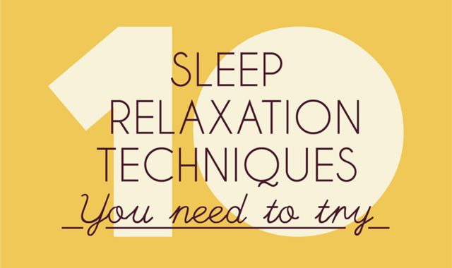 Getting to sleep can be hard, and according to Dream's UK Sleep Survey, 63.1% of people are unhappy with the amount of sleep they get. Here are ten sleep relaxation techniques to help you master your night time slumber.