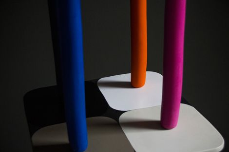 Stephen Ormandy for Dinosaur Designs Collage 2013. Photography by Nicholas Samartis