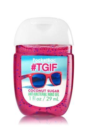 #TGIF Coconut Sugar PocketBac Sanitizing Hand Gel - Soap/Sanitizer - Bath & Body Works