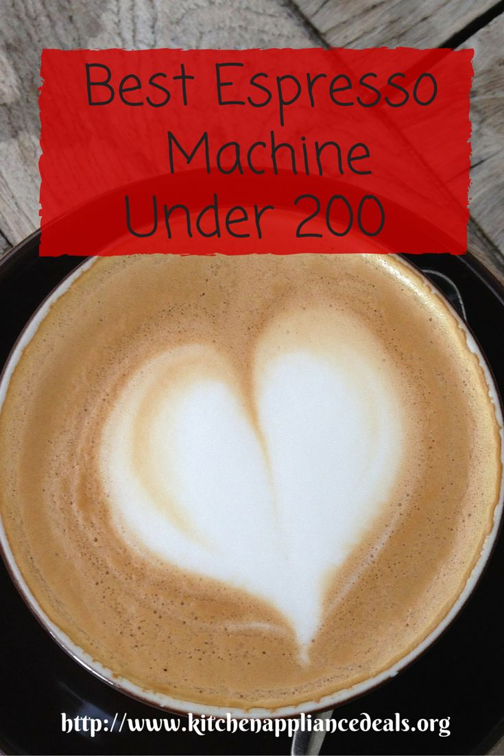 Are you looking for the best espresso machine under 200 dollars? Make great tasting coffee today at home. http://www.kitchenappliancedeals.org/best-espresso-machine-under-200.html
