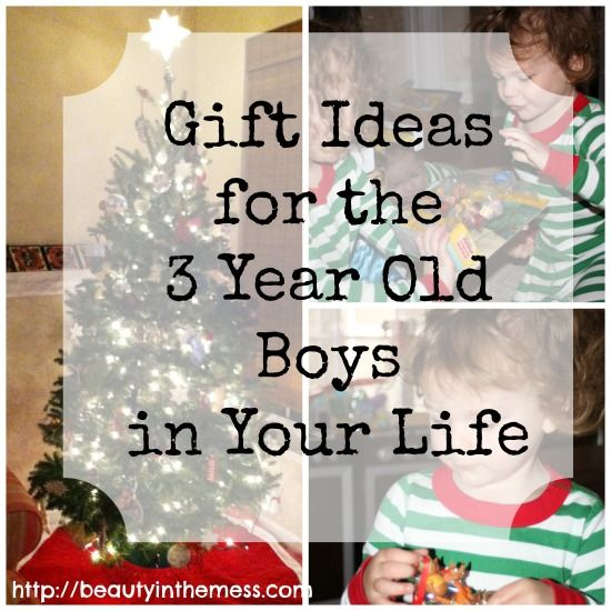 Gift Ideas for 3 Year Old Boys. No more wracking your brain trying to figure out what boys would want!
