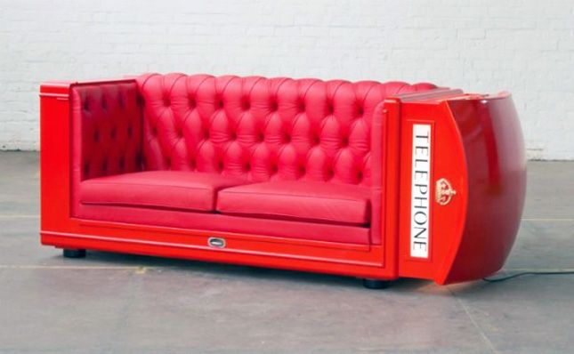 Phone Booth Lounger