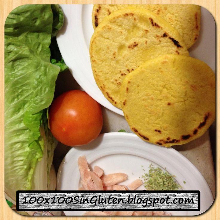 Pan de arepas venezolanas sin gluten paso a paso