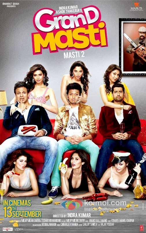 Watch Grand Masti (2013) Hindi Movie SCamRip XviD Online Free [IcTv]