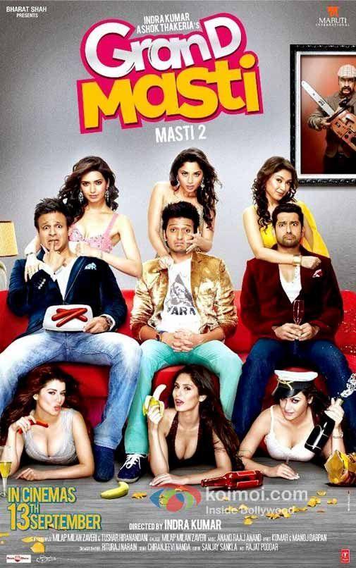 Watch Grand Masti (2013) Hindi Movie SCamRip XviD Online Free [IcTv]