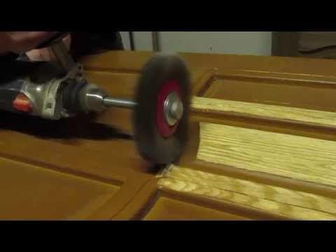 Реставрация дверей и мебели - YouTube