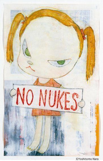 奈良美智さんが「NO WAR!」という画集を出した理由【戦後70年】