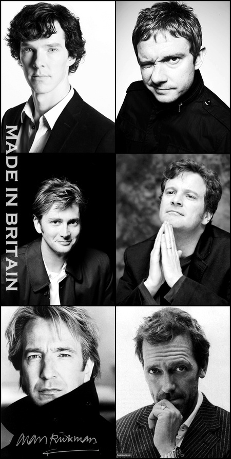So wonderful :): Martin Freeman, Alan Rickman, British Men, British Actors, British Boys, David Tennant, Favorite, Britain