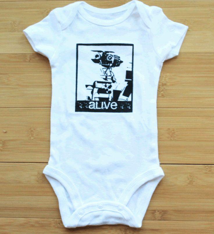 Short Circuit Johnny 5 Baby Onesie