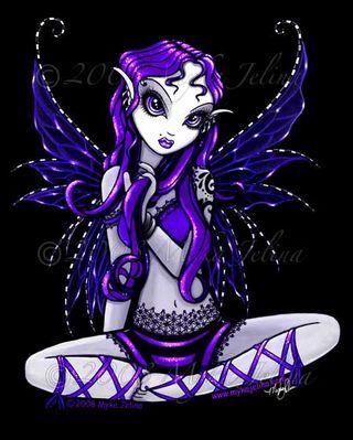 Myka Jelina Art in Progres | Myka Jelina Gallery - Faeries , Mermaids, Gothic Angels, Fairy Tattoos ...