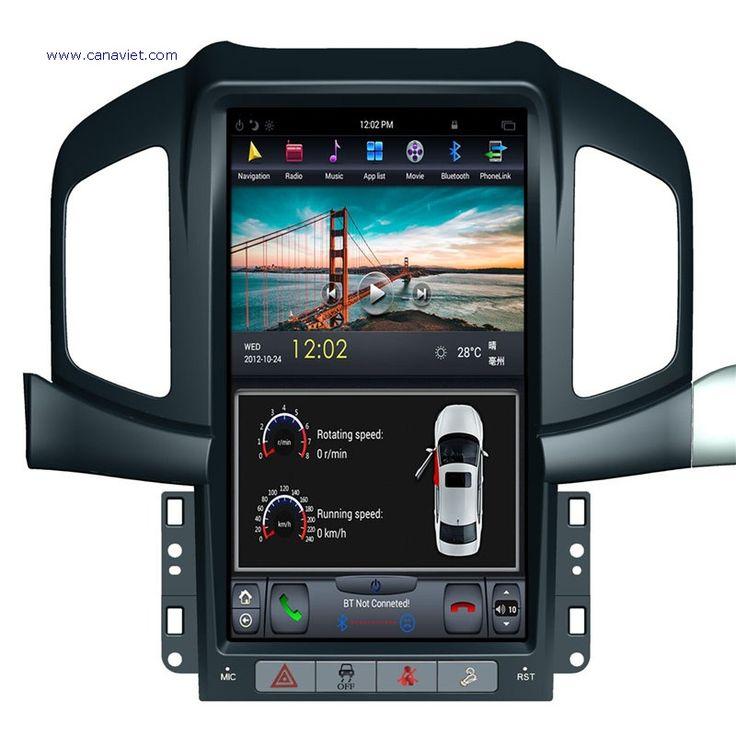 vertical screen tesla android autoradio car multimedia stereo gps navigation dvd radio audio sat nav head unit chevrolet captiva 2013 2014 2015 2016 2017