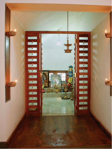 68 best pooja room images on pinterest buddhism drawing - Pooja room door designs in kerala ...