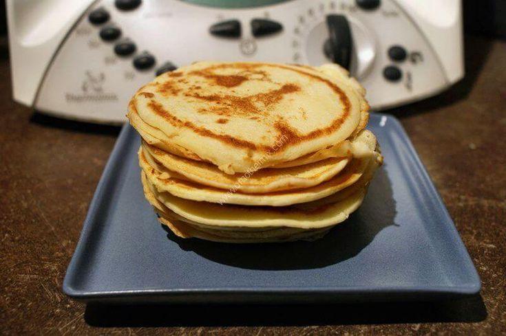 Pancakes au thermomix facile et rapide