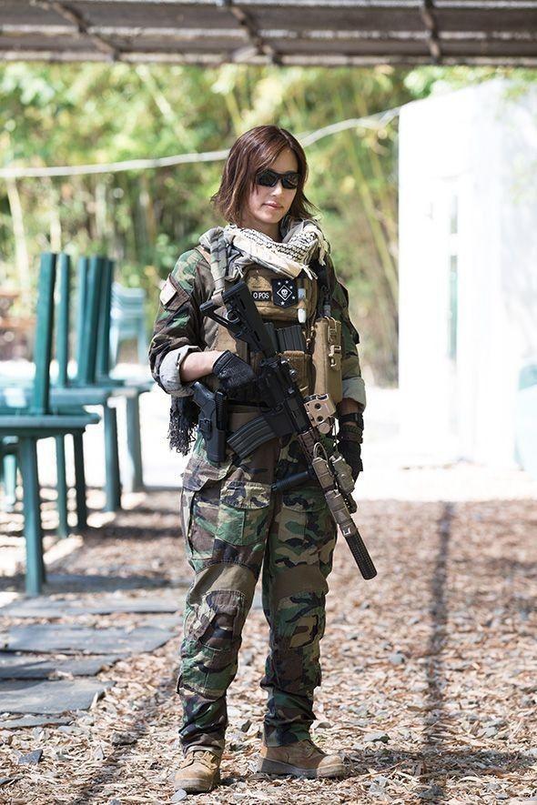 Pin by Joseph Yaklich on IDF | Military girl, Military
