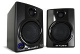 """M-Audio Studiophile AV30 MkII Powered Monitor Speakers - M-Audio Studiophile AV30 MkII Powered Monitor Speakers    It has 3"""" polypropylene-coated woofers for tight, accurate bassIt has 1"""" ferrofluid-cooled silk cone tweeters for clear, pristine highs"""