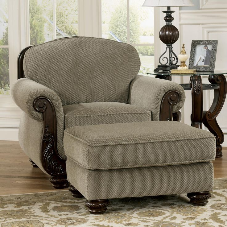 Best Furniture Living Room Chair And Ottomans Chair - Family room chairs furniture