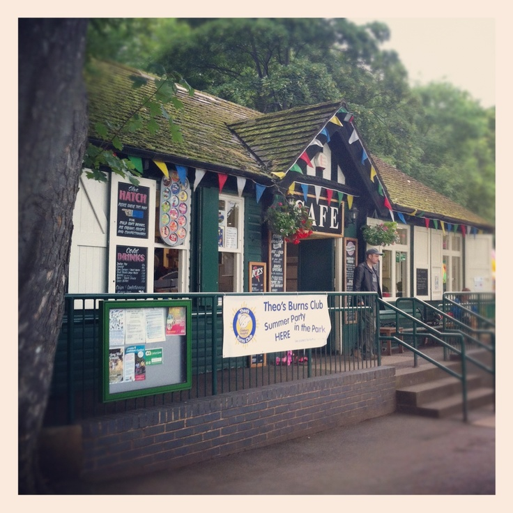 Sheffield's Endcliffe Park Cafe...a perfect summer treat/picnic!