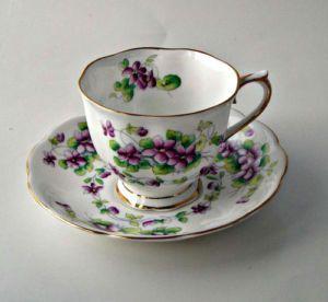 bone china tea cups | Royal Albert English Bone China Tea Cup and Saucer Sweet Violet | eBay