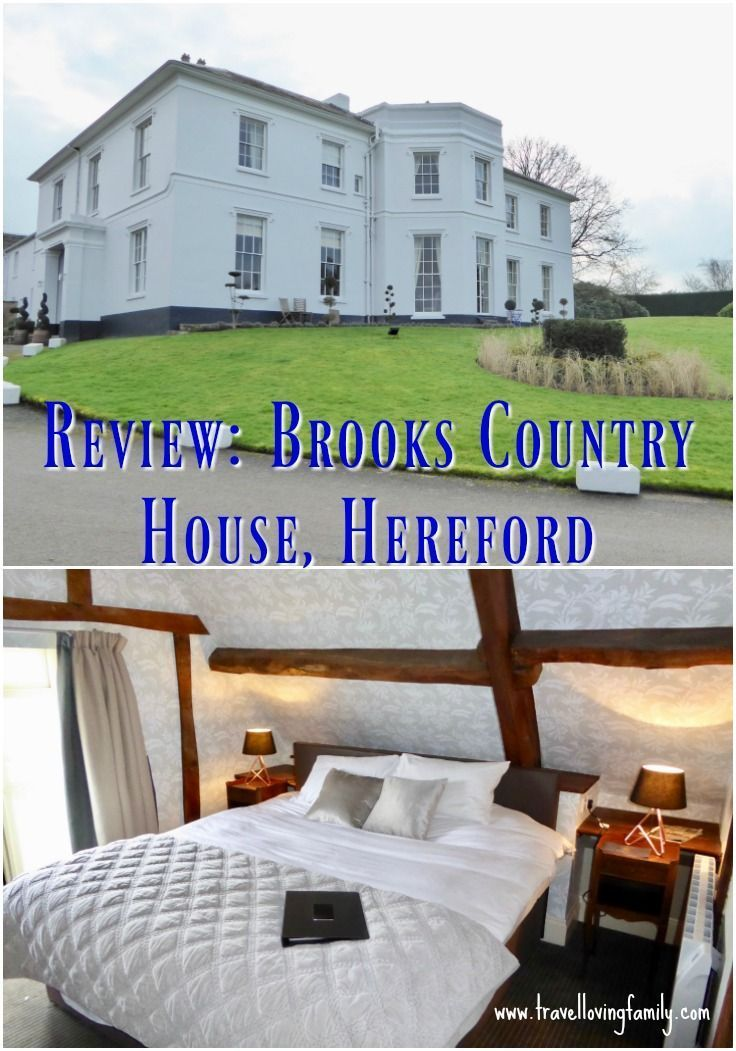 Review of Brooks Country House in Hereford. A stunning, and recently renovated, Georgian manor home with 22 bedrooms, set in the Hereford and Wye Valley countryside