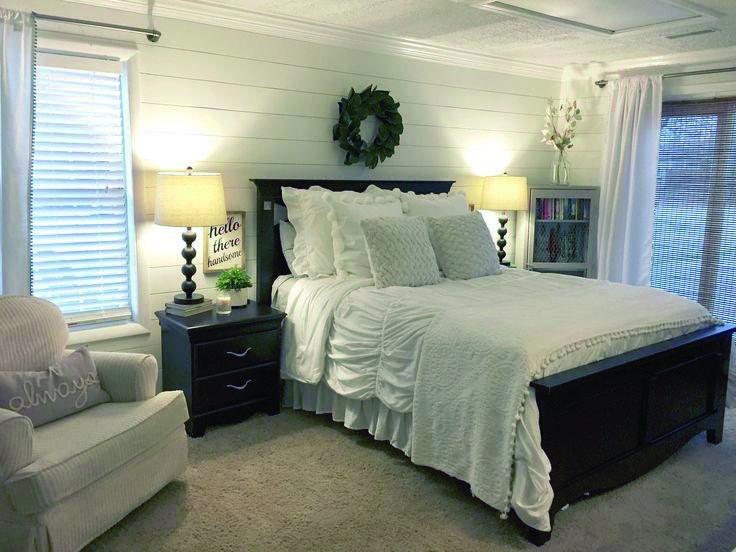 Modern Bedroom Ideas Farmhouse Style Master Bedroom Rustic