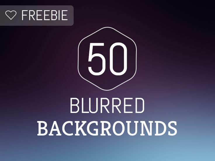 Freebie - 50 Blurred Backgrounds by Alberto