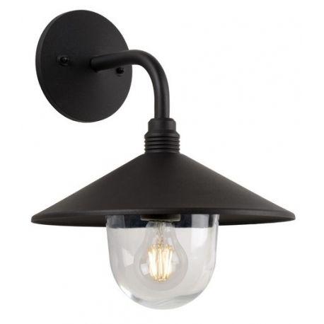 Kinkiet zewnętrzny Jessie to model wykonany z aluminium  w kolorze czarnym z możliwością zastosowania źródła światła LED. http://blowupdesign.pl/pl/38-lampy-ogrodowe-zewnetrzne-tarasowe-patio #kinkietogorodwy #oświetleniedomu #oświetleniefasadowe #lampyzewnętrzne #lampyogrodowe #walllamp #outdoorlighting