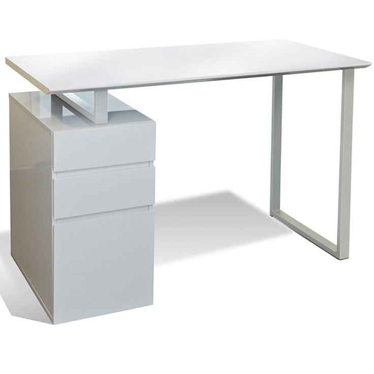 This 200 Series 48'' Study Desk & File works wonders in apartments, small offices, or for a secondary desk in the bedroom. With its built-in drawers and file cabinet, you can easily store your traditional office documents or place things in them...