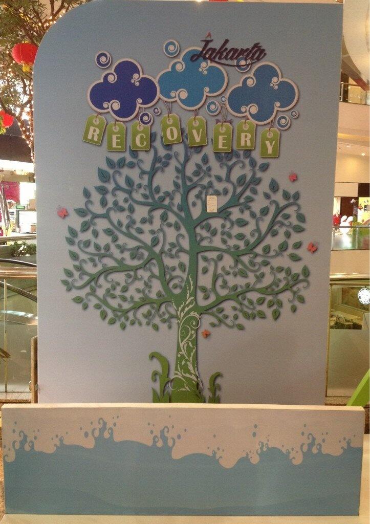 Tempelkan harapan mu untuk Jakarta di Pohon Kehidupan ini dalam acara #JakartaRecovery
