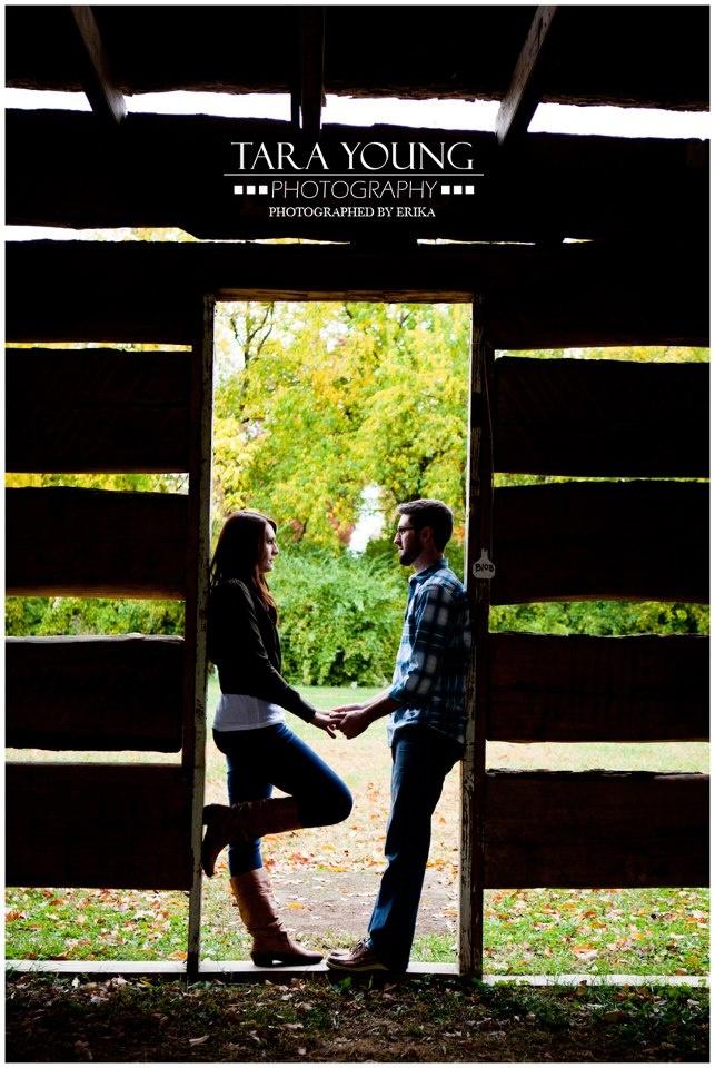 Tara Young engagement photo